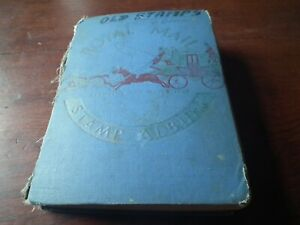 World stamp collection - Royal mail album - early to middle period - sorting lot