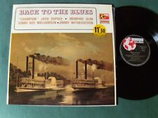 BACK TO THE BLUES - Champion Jack Dupree Sonny Boy Williamson LP MONDIO MM. 19