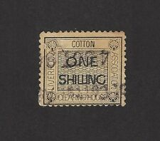 GB revenue : COTTON CLEARING HOUSE LIVERPOOL ONE SHILLING stamp