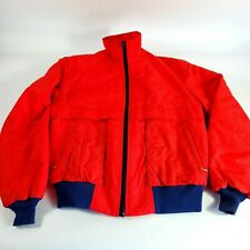 Vintage 80's Guide Series Field and Stream Vented Bomber Jacket, Usa made Large