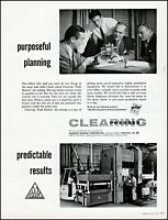 1958 Business Plan Meeting Clearing Machine Corp Vintage Photo Print Ad Adl78 Advertising-print
