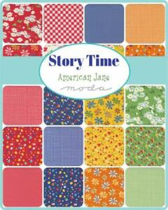AMERICAN JANE 'STORY TIME' FOR MODA FABRICS. CHARM PACK. NEW RELEASE.
