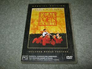 Dead Poets Society - Special Edition - Robin Williams - VGC - DVD - R4