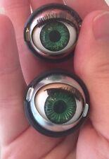 Doll Sleep Moving Eyes 27mm Green Vinyl Doll Eyes Replace Repair Fix Doll Making