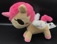 tokidoki  Unicorno Dolce Tan and Pink Unicorn Plush with Sprinkles
