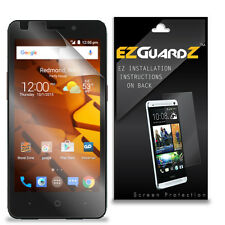3X EZguardz LCD Screen Protector Skin HD 3X For ZTE Avid Plus Z828 (Ultra Clear)