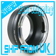 Canon FD Mount Lens to Canon EOS M EF-M Mount Mirrorless Camera Adapter Ring M10