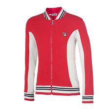 New! Fila Retro Bjorn Borg Vintage Wool Jacket Red Tennis Golf Size L
