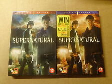 6-DISC DVD BOX / SUPERNATURAL - SERIE 1 - VOLUME 1 + VOLUME 2