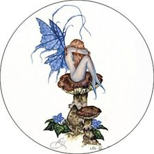 Amy Brown It's Been a Long Day Fairy Button Pin Badge