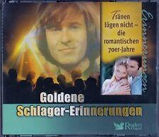 GOLDENE SCHLAGER-ERINNERUNGEN - TRÄNEN LÜGEN NICHT, DIE... / 3 CD-SET