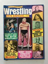Wrestling 1974 Magazine WWF AWA NWA Shane blood #10 Sheik Colt Lewis