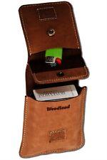 Leather Zigarettenhülle Cigarette Case (327C) Zigarettentasche Cigarette Box New