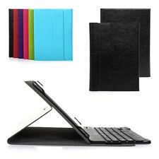 """Deutsche Tablet-Tastatur + Schutzhülle für 10,1"""" 10""""Samsung Galaxy Tab 4 schwarz"""