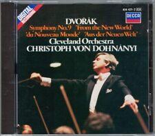 Christoph von DOHNANYI DVORAK Symphony No.9 From New World Aus der Neuen Welt CD