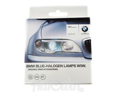 BMW ORIGINAL BLUE HALOGEN HEADLIGHT LIGHT LAMPS W5W GENUINE OEM NEW 63112352236