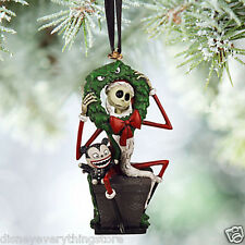DISNEY NIGHTMARE BEFORE CHRISTMAS JACK VAMPIRE TEDDY SKETCHBOOK ORNAMENT HTF NWT