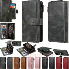 Magnetic Removable Leather Wallet Case Cover For Samsung S20 S10 S9 Note 10 Plus