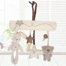 Newborn Infant Baby Pram Handbell Bed Stroller Soft Hanging Toy Animal Rattles