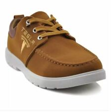 Tanggo Tesla Fashion Sneakers Men's Casual Rubber Shoes (brown) - SIZE 43