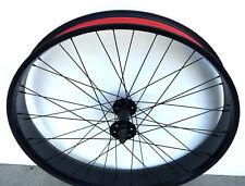 "Micargi Slugo 26""x 4.0 Fat Front Beach Cruiser Bicycle Wheel Black"