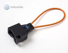 plupart fibre optique Boucle Câble femme Connecteur pour Audi Bmw Porsche