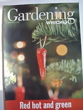 Gardening Which? Magazine. December, 1998. Red hot and green. Charming chickens.