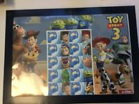 TOY STORY 3  AUSTRALIA 55 CENTS STAMP SHEET WITH COVER - NEW