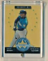 1994 Donruss Studio Silver Series Stars 4 Ken Griffey Jr Seattle Mariners /10000