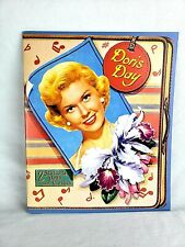 "Doris Day ""America Girl's Next Door"" Vintage Reproduction Paper Doll Book 1St Ed"