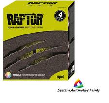 Upol Raptor TINTABLE Bed Liner, 2 Pack Urethane Protective Coating 4 Bottle Kit
