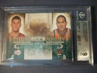 BLAKE GRIFFIN/T GRIFFIN 2009-10 R&S Studio Combo Rookies #1 BGS MINT 9 RC