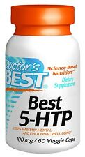 Best 5-HTP, 100 mg, 60 veggie caps, Doctor's Best