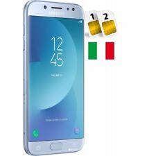 SAMSUNG GALAXY J7 2017 DUAL SIM SM- J730 DS 16GB BLU GARANZIA ITALIA NO BRAND