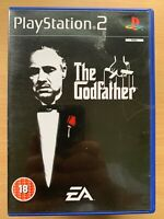 The Godfather Sony PlayStation 2 PS2 Game Action Crime Gangsters Mafia