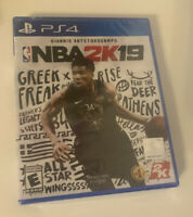 NBA 2K19 (Playstation 4, 2018) PS4. Brand New, Factory Sealed. Free Shipping.