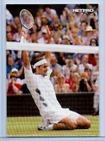 ROGER FEDERER 2003 NETPRO PHOTO ROOKIE CARD! 7X WIMBLEDON CHAMPION!