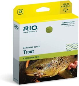 RIO Mainstream Trout Fly Line WF4F/S3, Sink Tip 12' 3-4ips/8-10cm