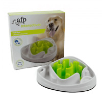 Dog Food Maze Bowl Interactive Toys Treat Water Feeder Dish All For Paws Cat Pet