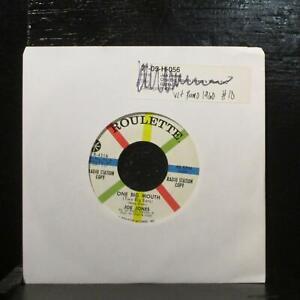 "Joe Jones – One Big Mouth (Two Big Ears) VG+ Promo 7"" Vinyl 45 Roulette R-4316"