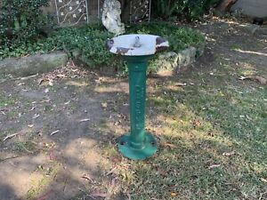 RARE Vintage Cast Iron Bubbler~Water Fountain~Industrial/School/Garden.Antique