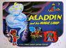 ALADDIN AND HIS MAGIC LAMP 1970 Jean Image Animation UK QUAD POSTER