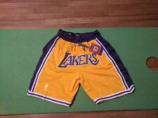 Just Don x Mitchell & Ness los Angeles Lakers Shorts Size XL