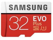 Genuine Samsung 32GB Micro SD EVO+ Card Class 10 95MB/s UHS-I + Samsung Adapter