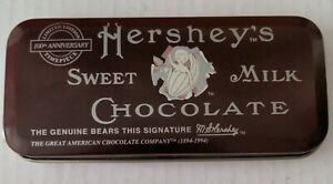Hershey's Chocolate Limited Edition Watch in Original Tin 100th Anniversary