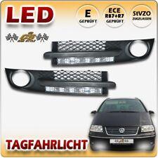 VW SHARAN 7M9 LED Tagfahrlicht TFL Set CHROM im Nebel Gitter Bj:2000-2010 NEU