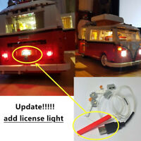 Updated Led light Kit for LEGO 10220 Camper Van Lighting Bricks VW VOLKSWAGEN T1