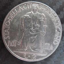 Citta' del Vaticano Pio XII 2 Lire 1942  ( A074)