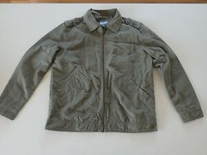 Baleno Adventure Army style Mens Jacket Zip Front Size M (A1)
