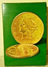 Vintage Avon Wind Jamer After Shave Decanter Twenty Dollar Gold Piece New Box